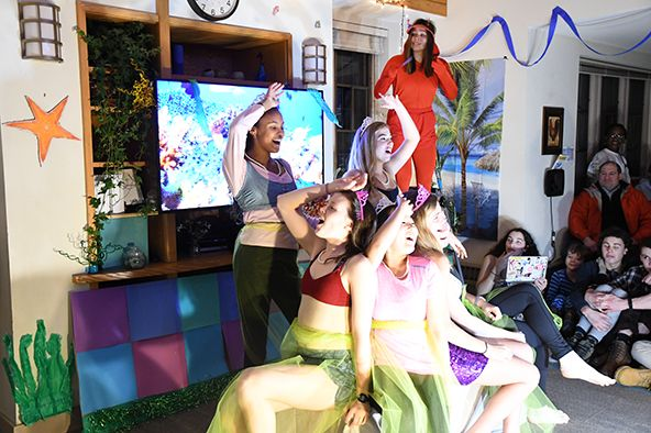 Brewster House performs Little Mermaid in Fiske Cup Competition