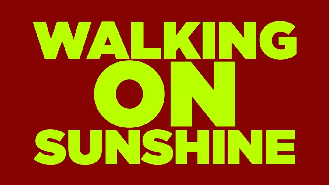 Walking on Sunshine Lip Dub