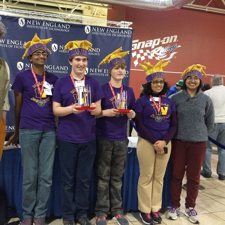 The Upper School FTC robotics team takes 2nd place at the 2016 RI State Championships. Wheeler also won the 2016 Control Award for the best autonomous program.
