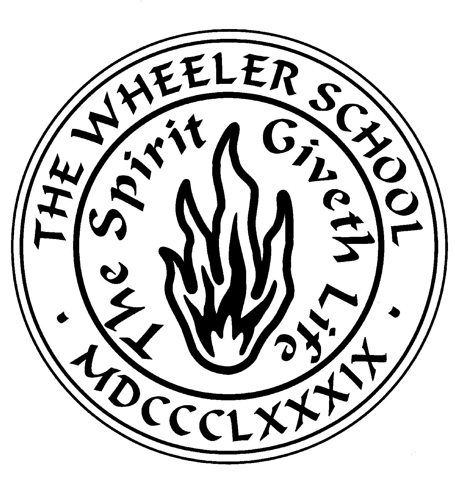 Original School Seal designed by John Howard Benson