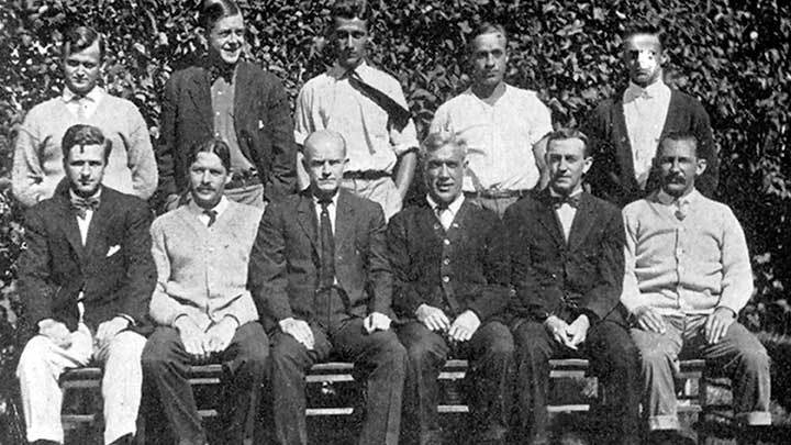 First Faculty and Counselors, 1910