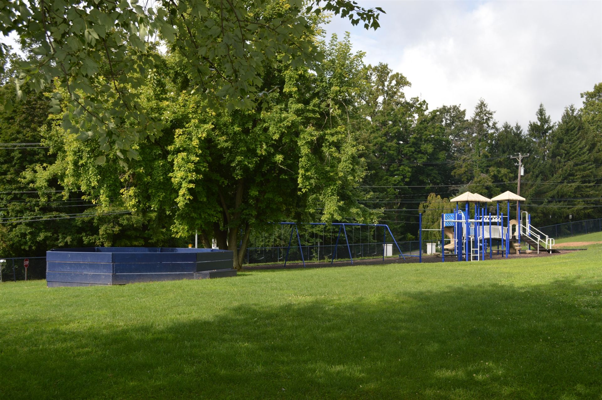 The Playground is where Lower School students enjoy recess.