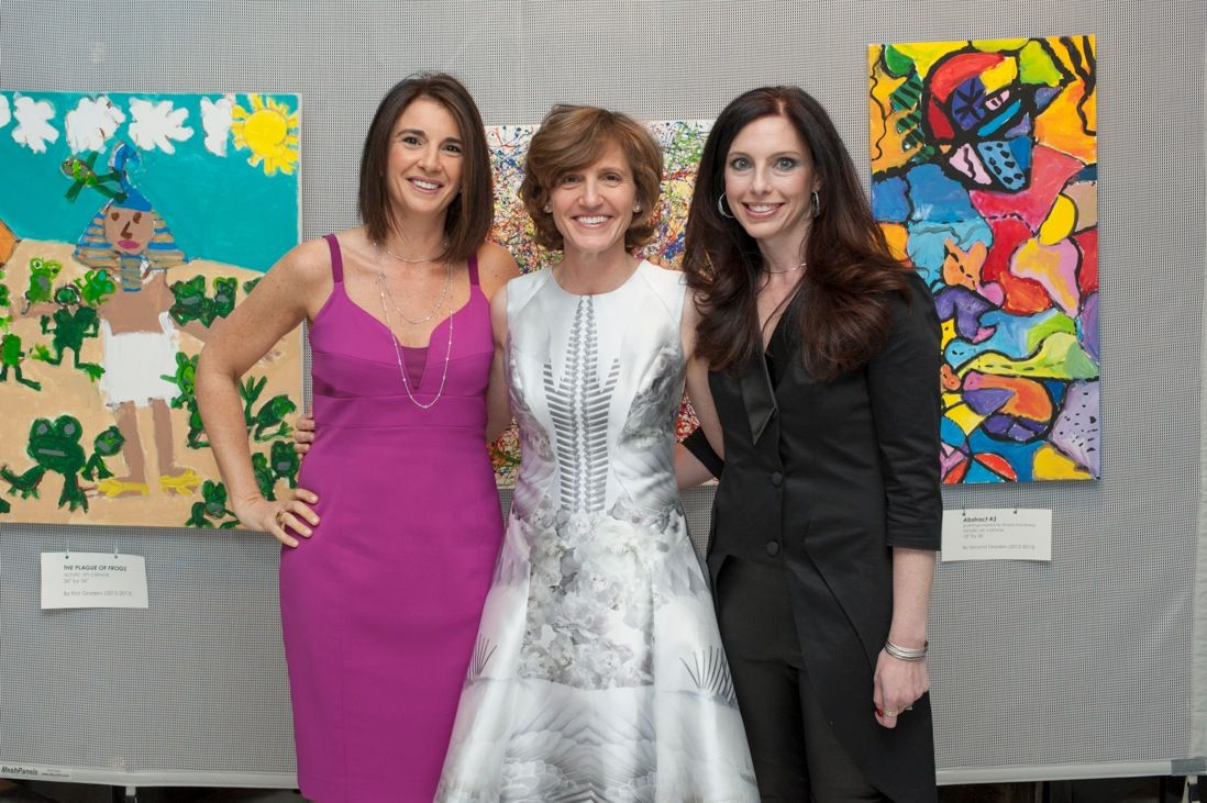 Spring Benefit Co-Chairs: Lisa Kalish, Karen Benett, Josephine Mogelof