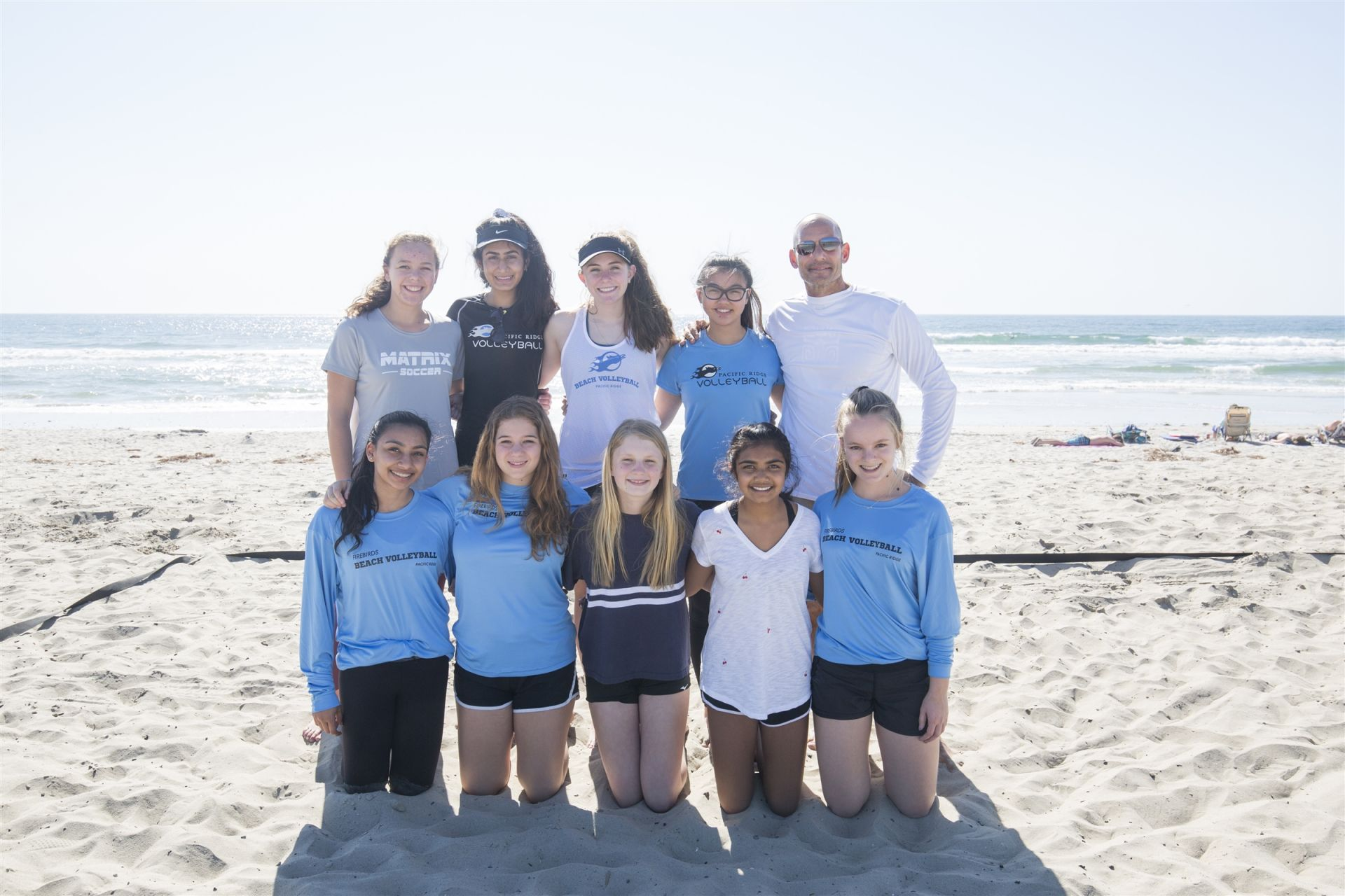 Girls Upper School Beach Volleyball | Pacific Ridge School