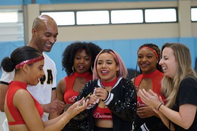 SDSU Diamonds bring their HBCU majorette-inspired dancing to campus.