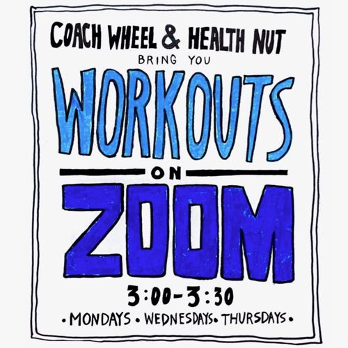 Fight stress, keep in shape and connect with other Firebirds in these zoom workouts!