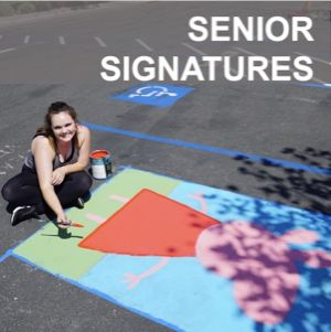 Senior Signatures are back! On Mondays and Fridays at 11:15, seniors will present their projects to the school community.