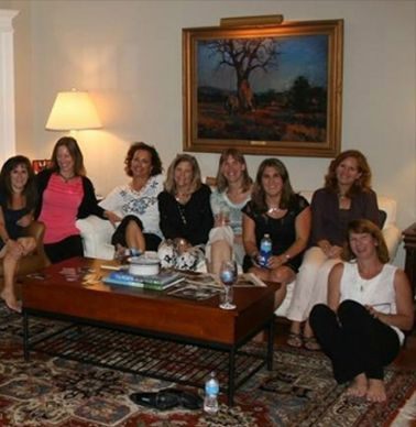 Ann Wall Gaita, Christy Thomas, Alice Mirguet Phillips, Mary Helen House Hilton, Pam Dawson O'Malley, Ann Levin Lane, Kathy Ferguson Rexroad and Brooke Garrett Tiller.