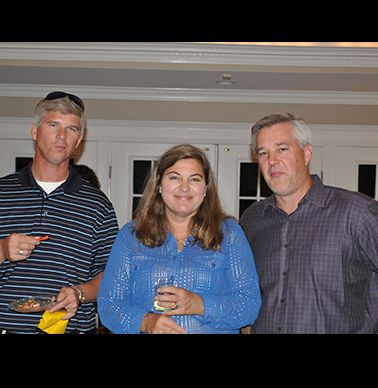 Patrick Hilton, Kay Ferguson and Mike Tiller.