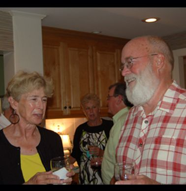 Cindy Behm Halliday and Gary Parker