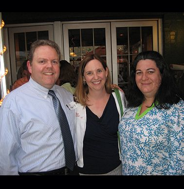Fred Longwood '91, Paige Kroner '95 and Selene Gorman-Rose '91.