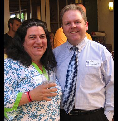 Selene Gorman-Rose '91 and Fred Longwood '91