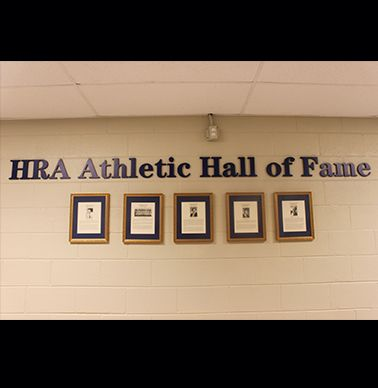 The new Athletic Hall of Fame is in Alumni Hall.