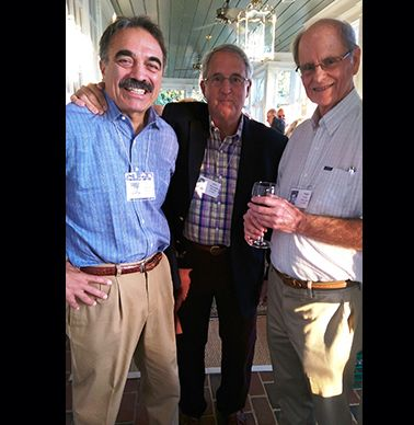 Bob Wanke `65, John Disosway `65 and Roger Dick `65