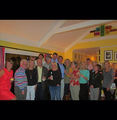 Classes of `74-`76 gather at the Blalocks