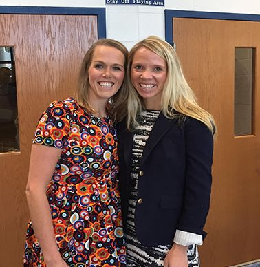 Nathalie Cooper Rose `03 and Honoree Emily Behncke `02
