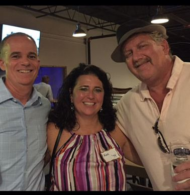 Mark Sarrett `79, Kim Arthur Pruden `79 and Jay Pruden `79