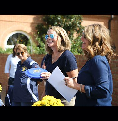 Kathleen Mauk and Heather Short explain the