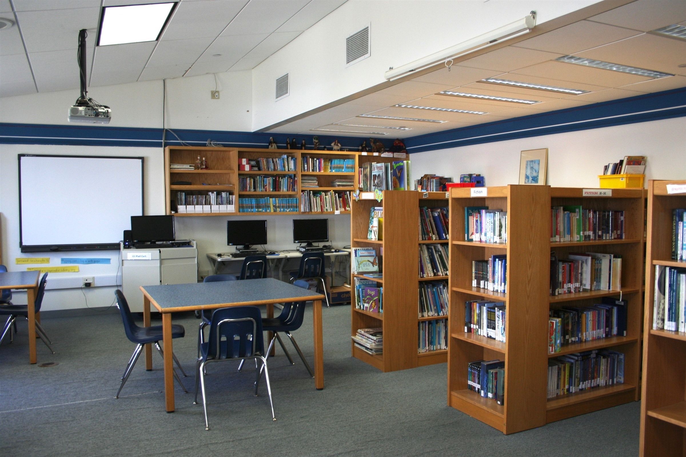 Lower School Library (The Tew Library)
