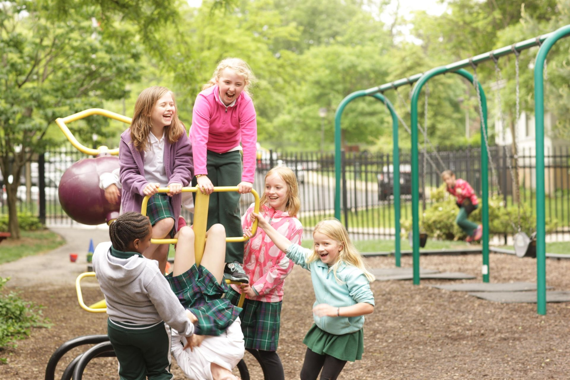 Alice S. Beckwith Lower School Playground