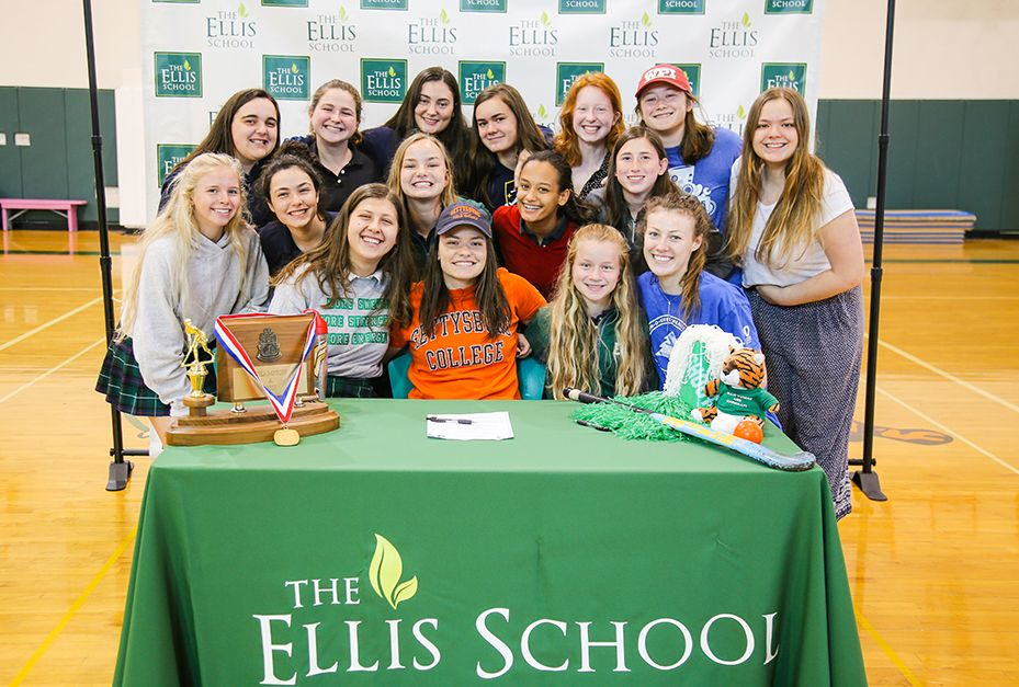 The girls and young women who attend The Ellis School leave our all-girls environment and enter the larger world with a strong belief in themselves and the understanding that they deserve the respect of others. Ellis graduates lead lives of real purpose, with an enormous impact in their communities and professions. Simply put, Ellis women shine.