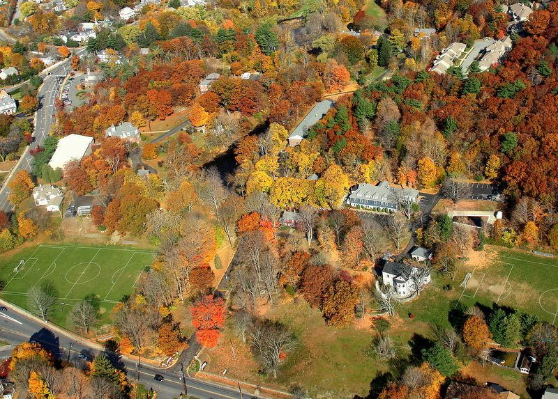 While only 10 miles from Boston, we truly have a classic New England Boarding School feel to our 40-acre campus.