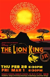 Lion King Jr poster