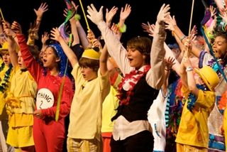 from the middle school's production of Seussical