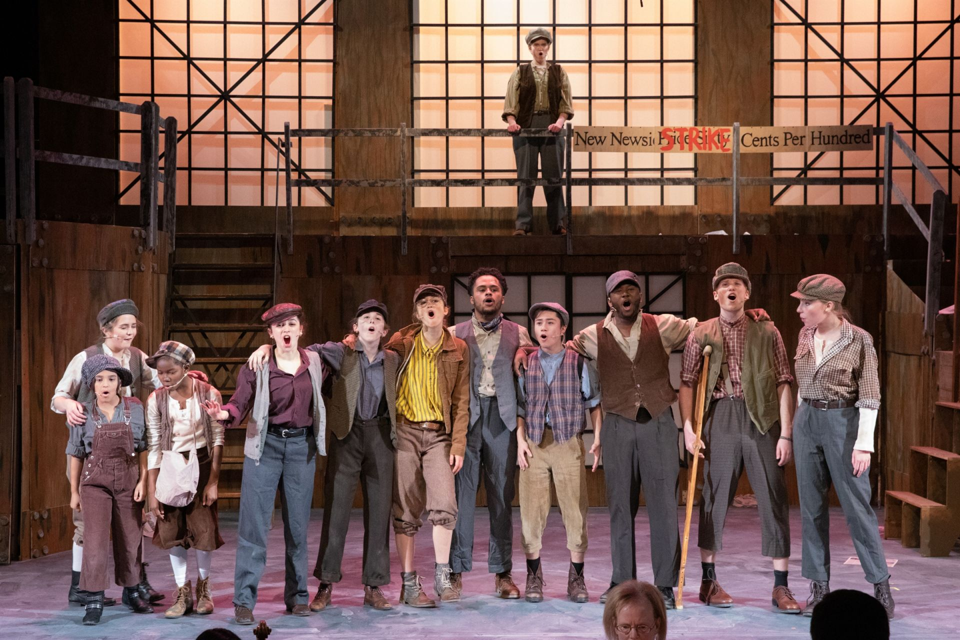 Newsies, March 2019