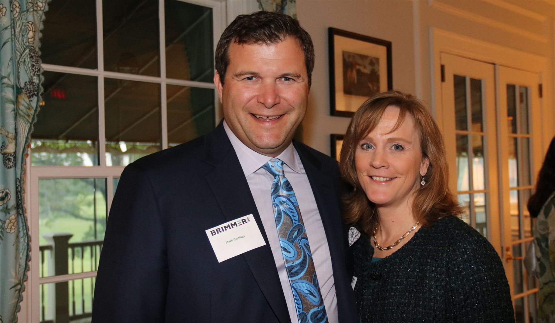 Mark Hastings and Trustee Lisa Hastings at the Leadership Donor Party.