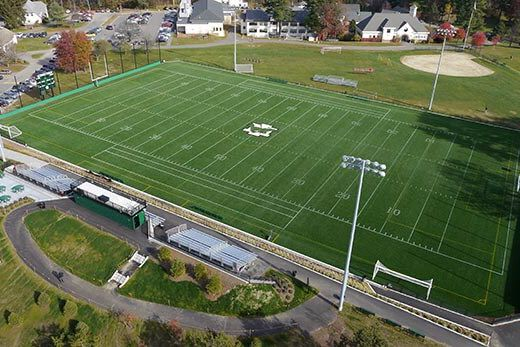 UMass Mount Ida Turf Field.