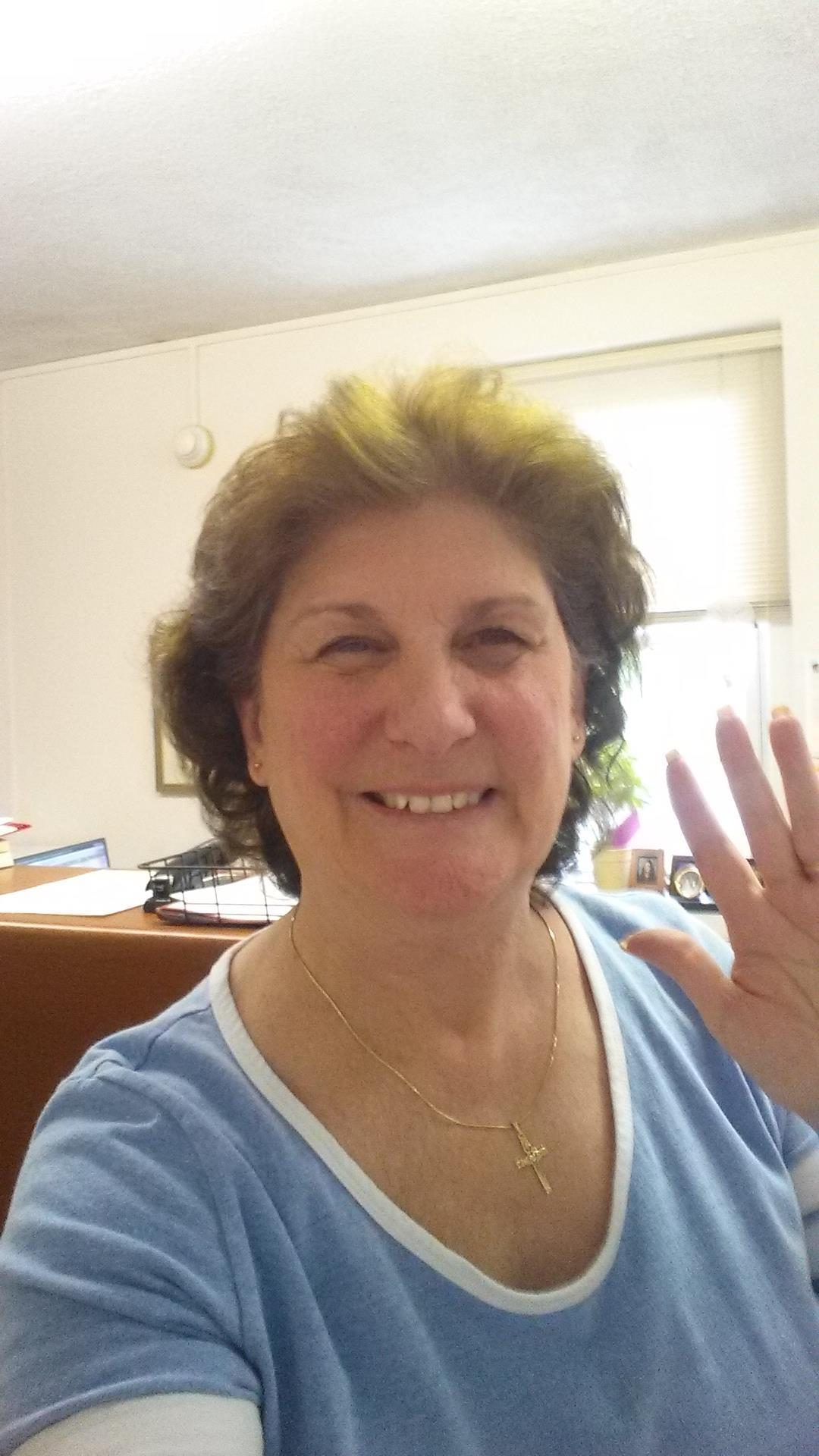 Gail Strahler Schaffer '69S sends greetings from the Moravian Academy Business Office!