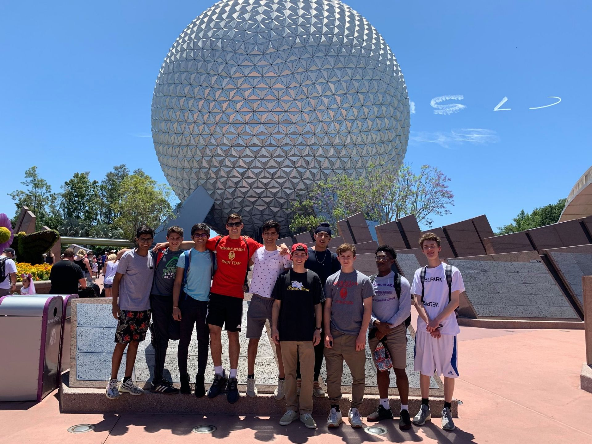 Greetings from members of our DECA Team at Disney World in Orlando, FL!