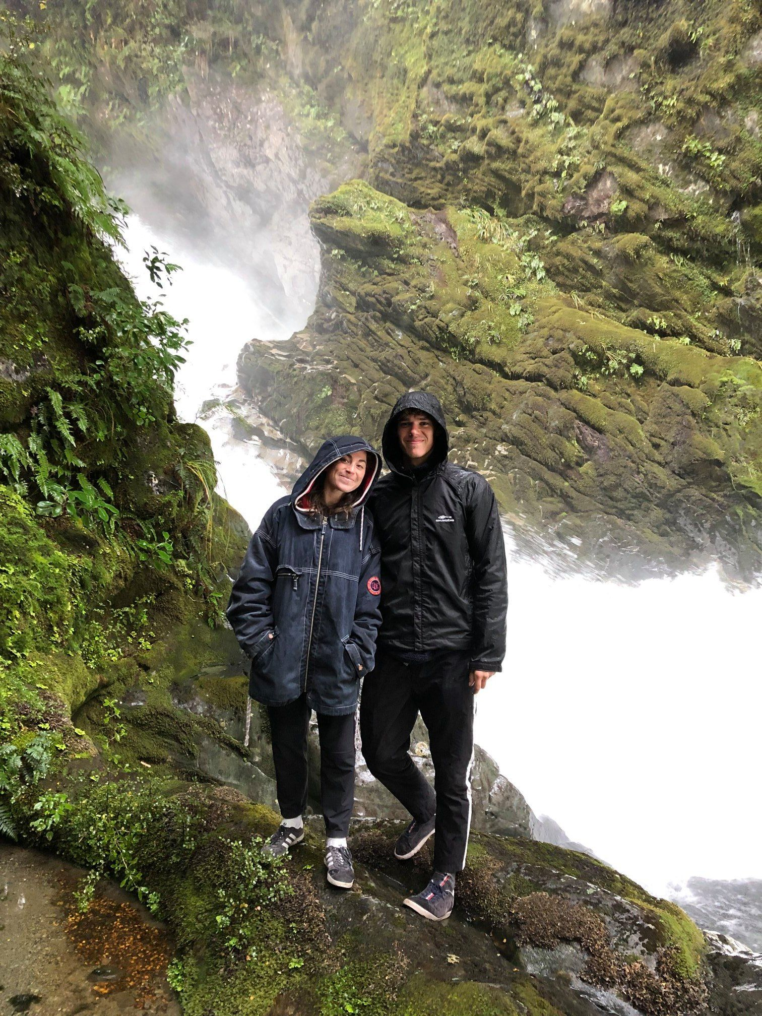 Greetings from Maya Shustik '16 & Tom Bloxam '16 from their trip to New Zealand!