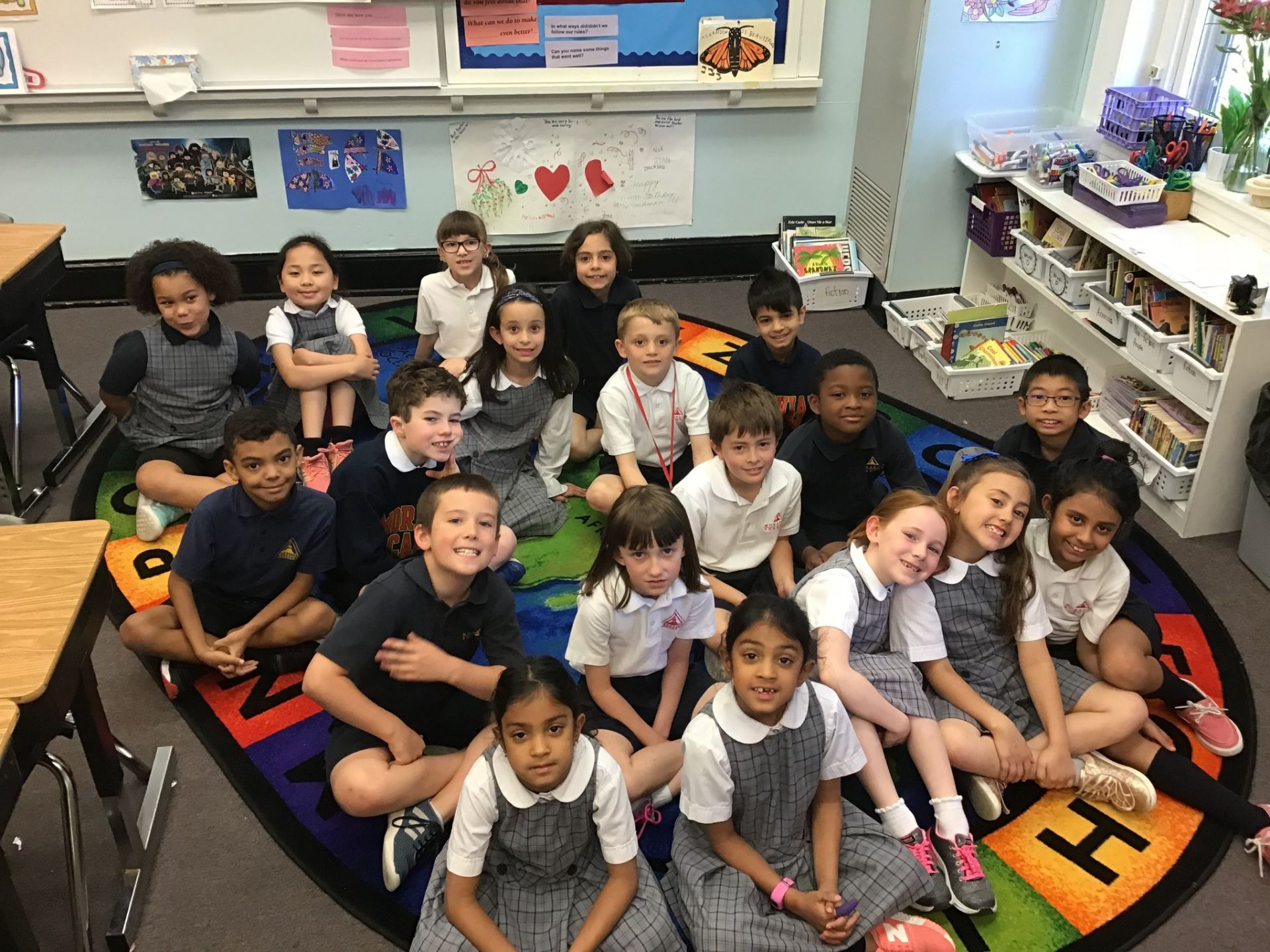 Hello from Mrs. Sarah Harshman's Second Grade Class!
