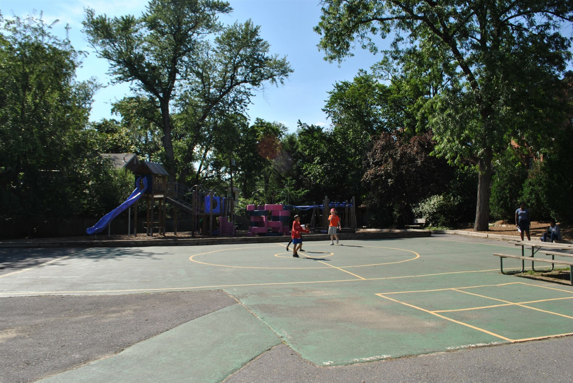 LMS playground blacktop.