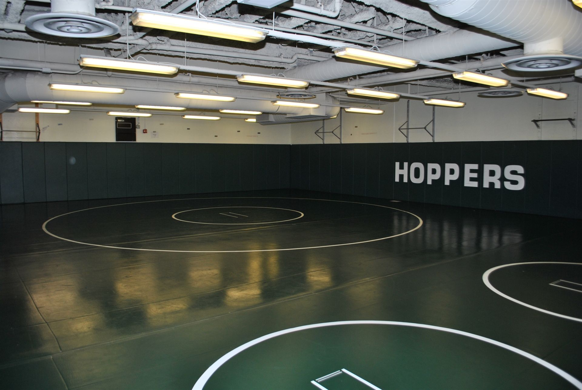 LMS Wrestling Room.