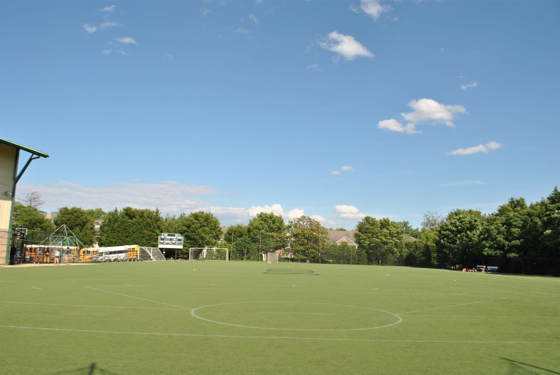 Lower School Athletic Fields.
