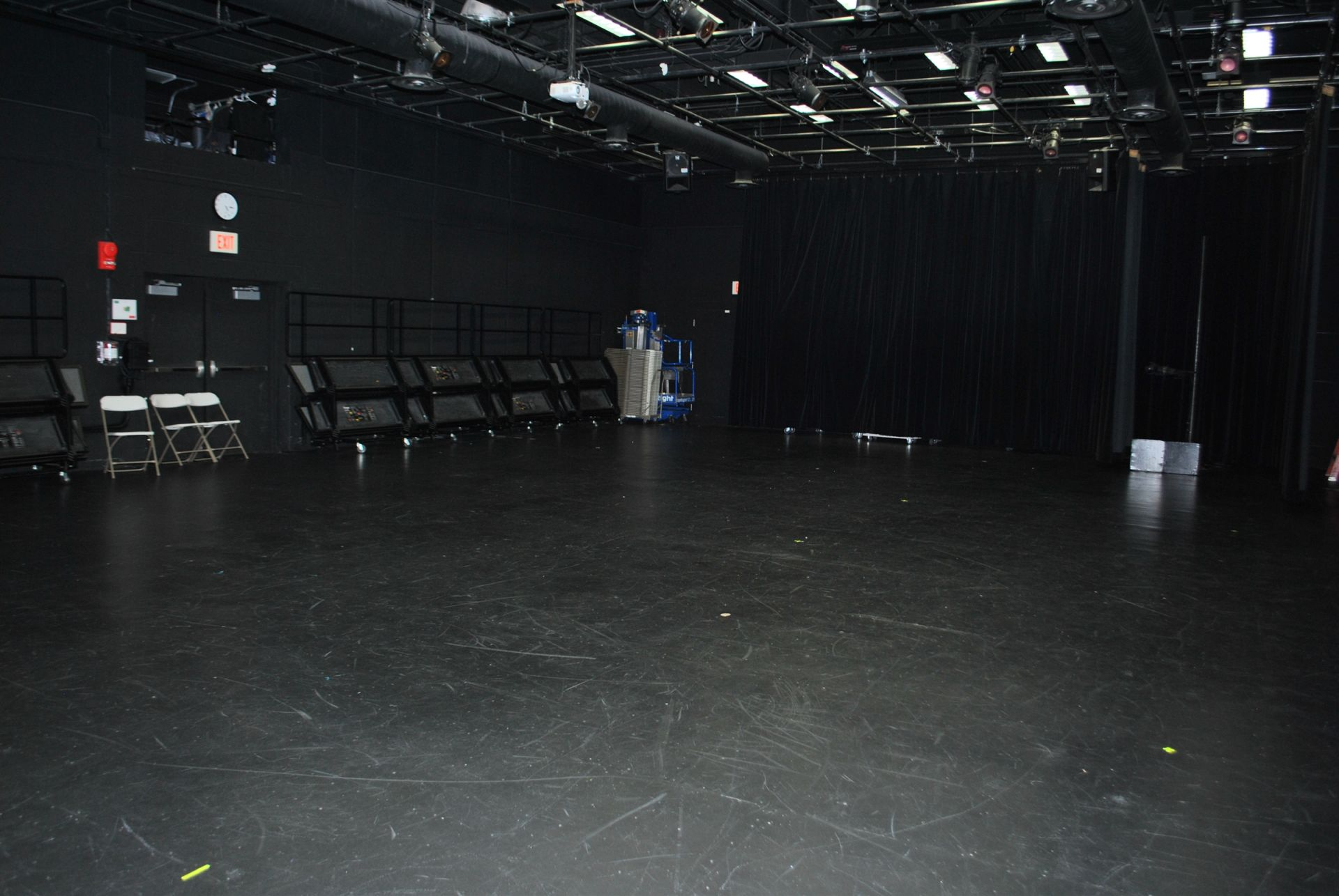 High School Blackbox Theater.