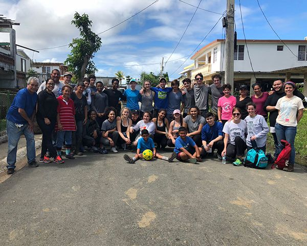 Hoppers travel to Puerto Rica to support rebuilding efforts after Hurricane Maria.