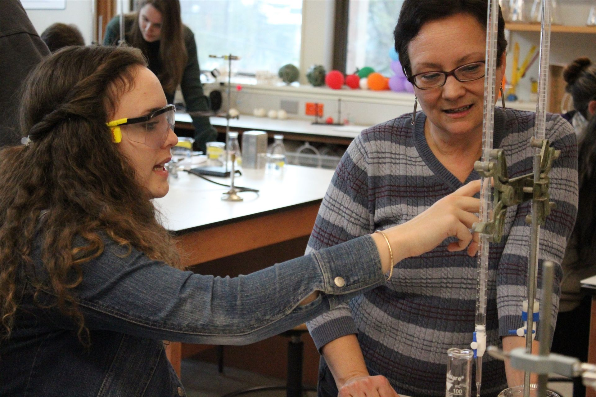 "<br>""After nearly three decades of teaching here, I am continually floored by how smart, thoughtful, creative and caring my fellow faculty and students are.""<br><br><b>Marilyn DelDonno</b><br>Science Teacher"