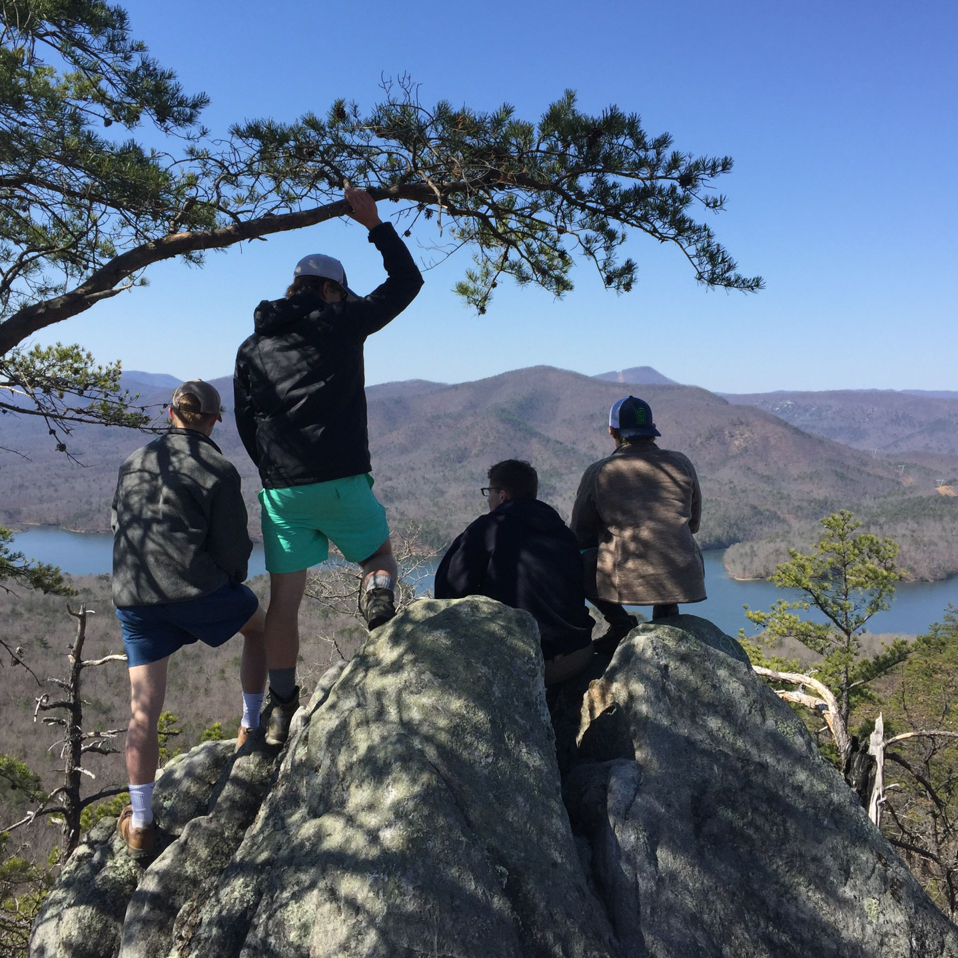 Spring Break Hike along the Appalachian Trail.