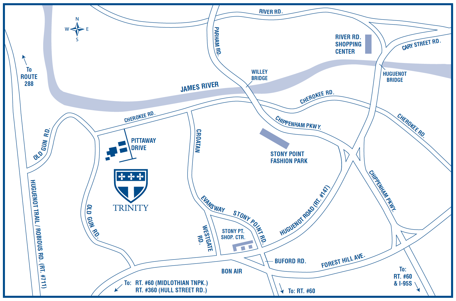 Trinity Episcopal School Directions To Trinity