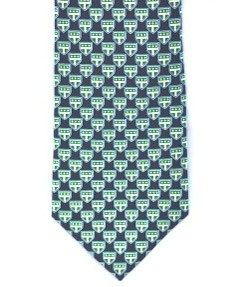 Trinity silk logo tie. Our price is $29.00. Sold in other bookstores for $65.00. NEW!  A bow tie is available in the same fabric for $25.