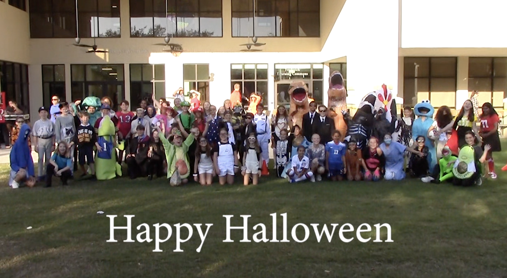 Lower Division Halloween Parade Video