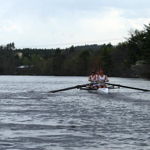 Rowing on the Merrimack River