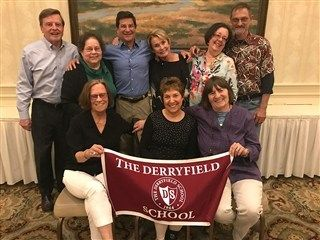 Derryfield's first 50th reunion class!
