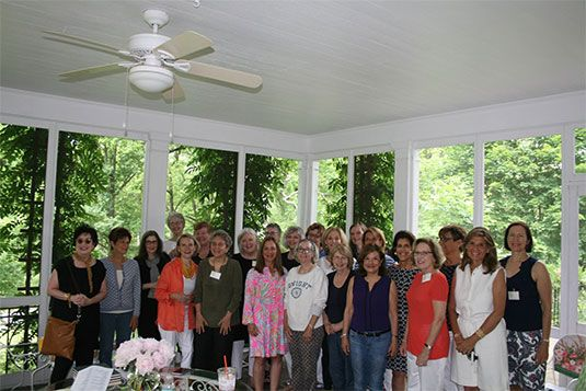 Dwight Class of 1966 Luncheon on June 3 at Evan Lattimer's home on Beech Road.