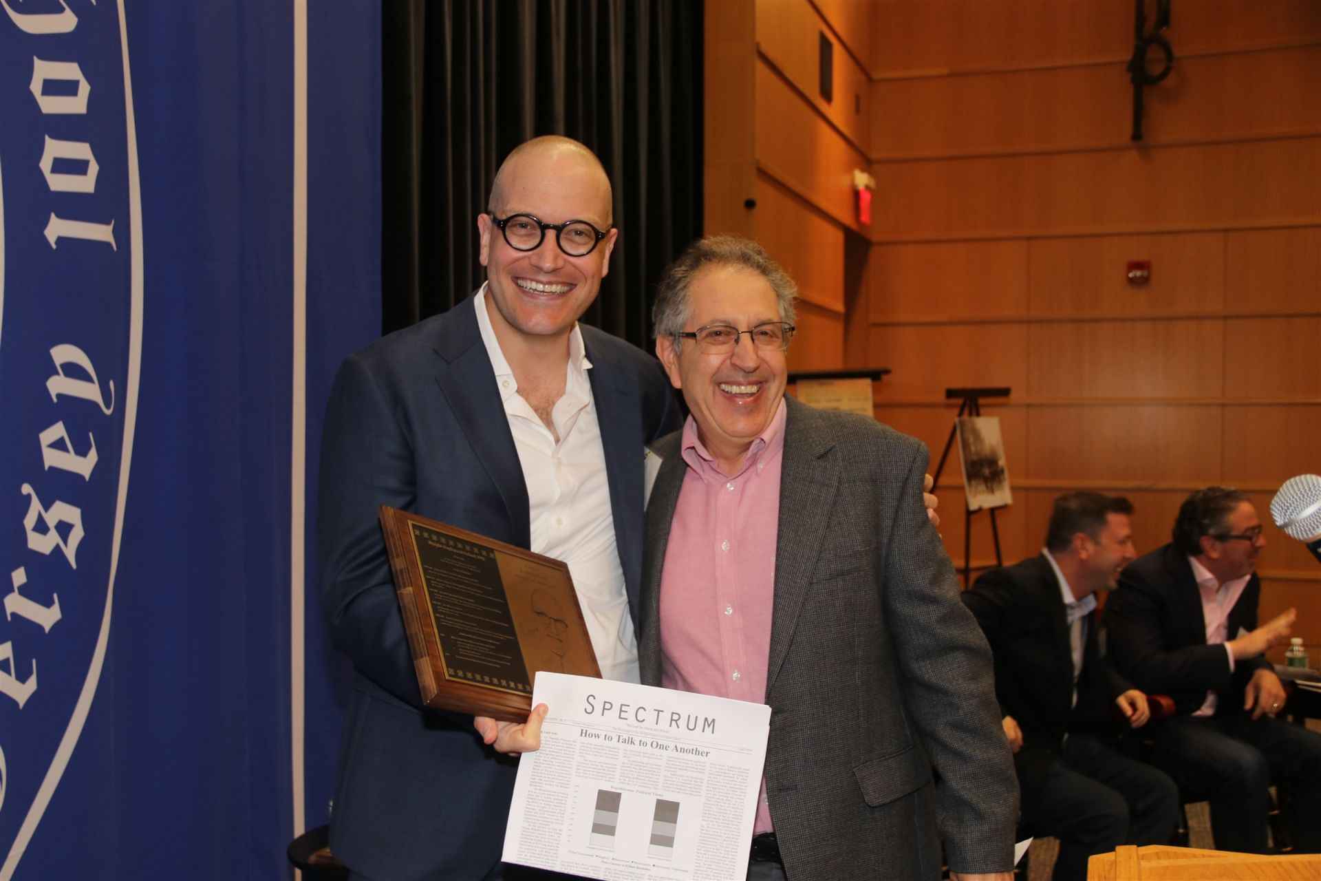 Isaac-Davy Aronson '98 and Peter Bograd