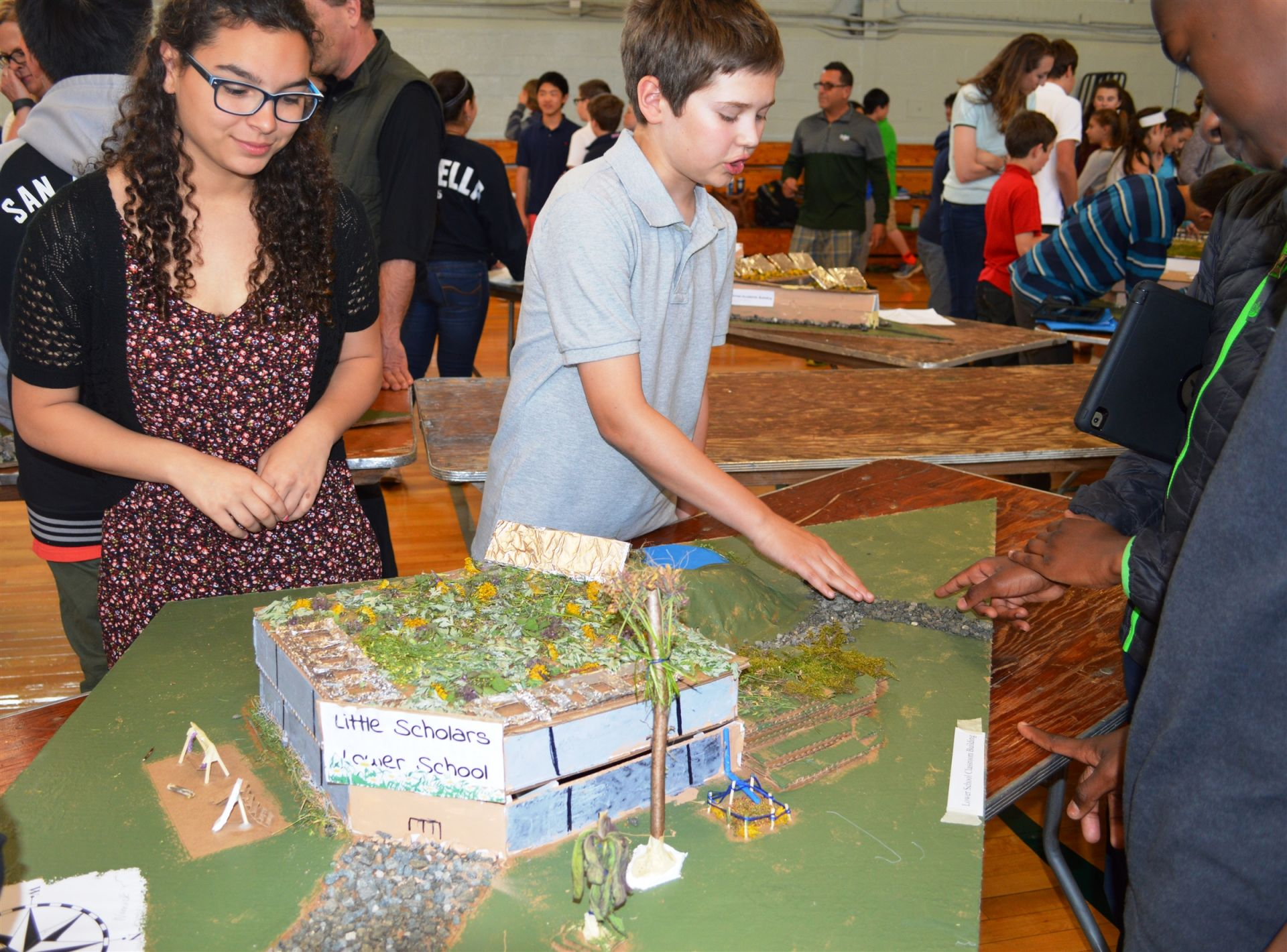 Hamden Hall students,Private school,work to create a more sustainable New Haven area